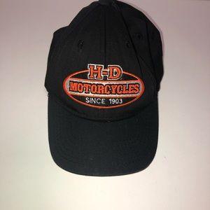 Harley Davidson motorcycle toddler kids cap hat
